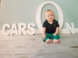 Carson 8 months
